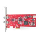 DVB-S2 Doppel-Tuner, Profi PCIe Satelliten-TV-Karte,...
