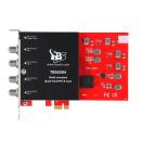 DVB Multi Standard Quad-Tuner, PCIe TV-Karte, TBS-6504