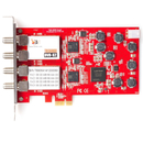 DVB-S2 Quad-Tuner, Professional PCIe Satellite-TV-Card,...