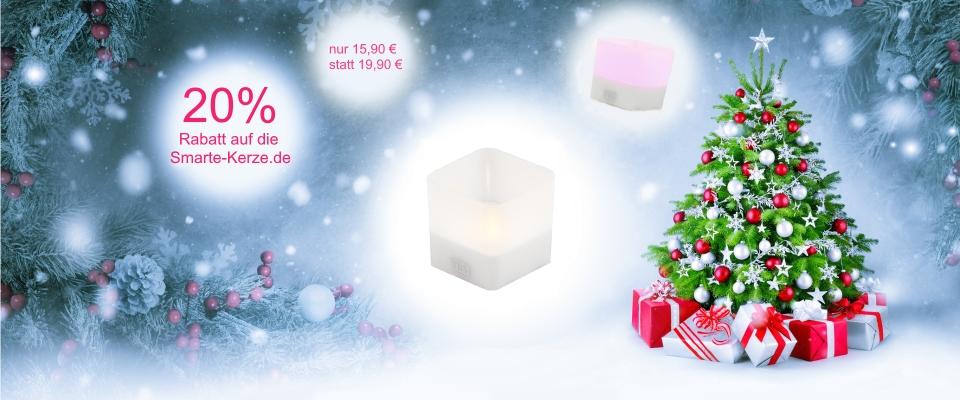 2. Advents-Aktion: Smarte-Kerze.de nur 15,90