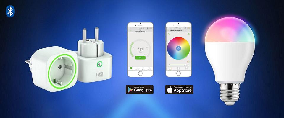 App (iOS/Android) steuerbar per Bluetooth